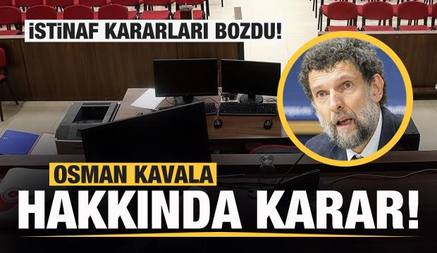 Osman Kavala hakkında son dakika kararı