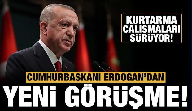 Son dakika! Başkan Erdoğan, saldırıya uğrayan geminin kaptanı ile görüştü