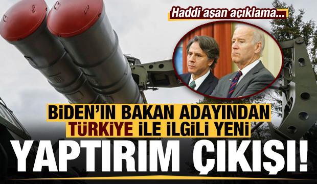 Joe Biden'ın bakan adayından Türkiye ile ilgili yeni yaptırım açıklaması!