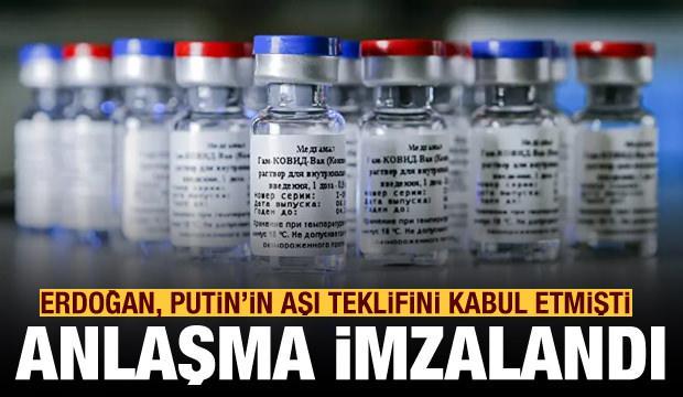 Son dakika: İmzalar atıldı! Rus aşısının Türkiye'de üretileceği açıklandı