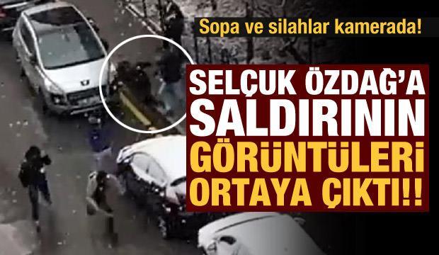 Sopa ve silahlar kamerada! Selçuk Özdağ'a saldırı anının görüntüsü ortaya çıktı