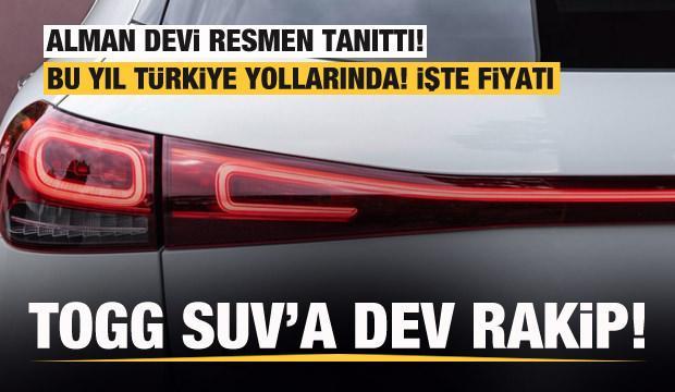 TOGG SUV'a dev rakip! Mercedes yeni elektrikli SUV'unu tanıttı! İşte fiyatı