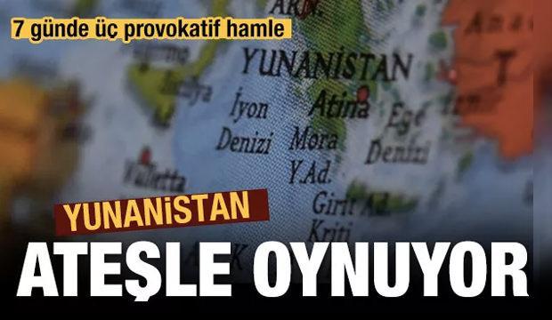 Yunanistan'dan 7 günde 3 tahrik
