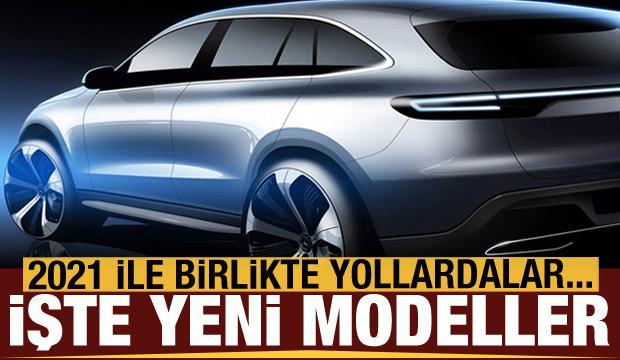 2021 yılında Türkiye yollarına çıkan yeni modeller
