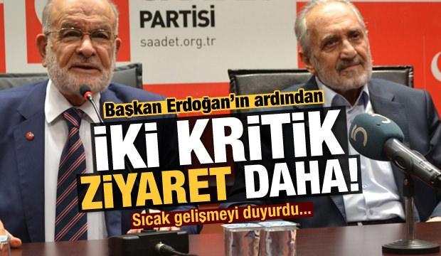 Başkan Erdoğan'ın ardından Asiltürk'e iki kritik ziyaret daha!