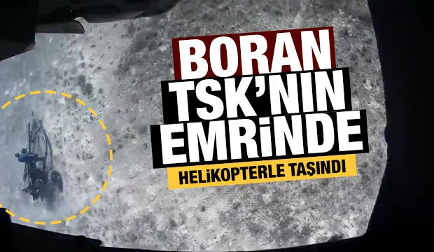 Boran TSK'nın emrinde: Bir dakikadan az sürede atışa hazır!