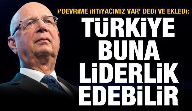 'Devrime ihtiyacımız var' dedi ve ekledi: Türkiye bu alanda liderlik üstlenebilir