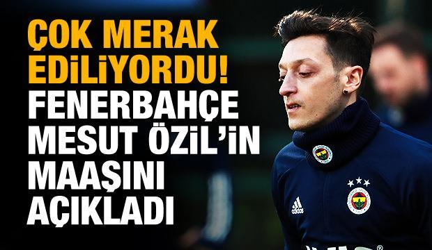 Fenerbahçe açıkladı! İşte Mesut'un maaşı
