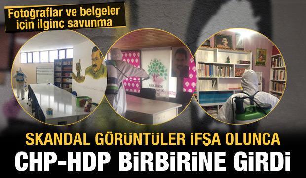 Görüntüler ifşa olunca HDP ile CHP birbirine girdi: Asıl biz şikayetçiyiz!