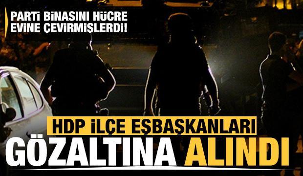 HDP Esenyurt İlçe Eşbaşkanları gözaltına alındı