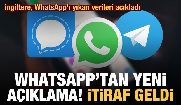İngiltere, WhatsApp'ı yıkan verileri açıkladı! WhatsApp'tan son dakika açıklaması