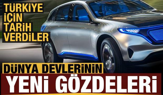 İşte 2021 yılında Türkiye'ye gelecek olan elektrikli otomobiller...