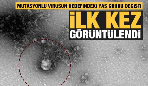 Koronavirüsün mutasyonu ilk kez görüntülendi
