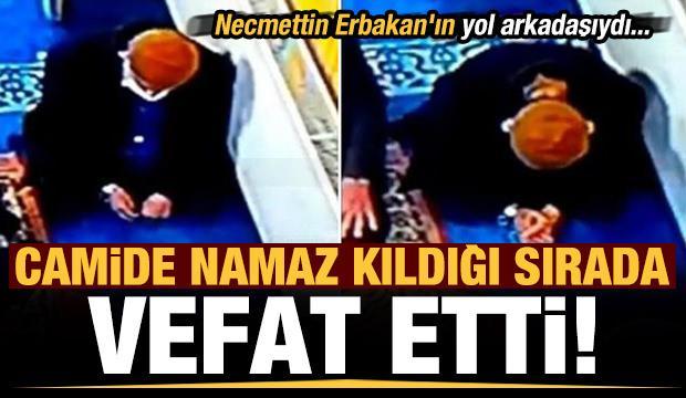 Son dakika: Necmettin Erbakan'ın yol arkadaşı Derviş Yıldırım, namaz kıldığı sırada vefat etti!