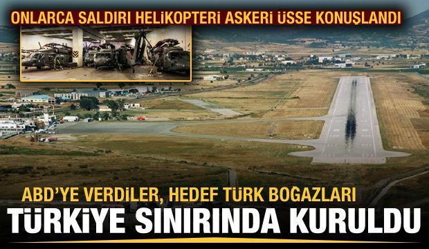 Yunanistan ile bir olan ABD, Türkiye sınırına 30 saldırı helikopteri indirdi