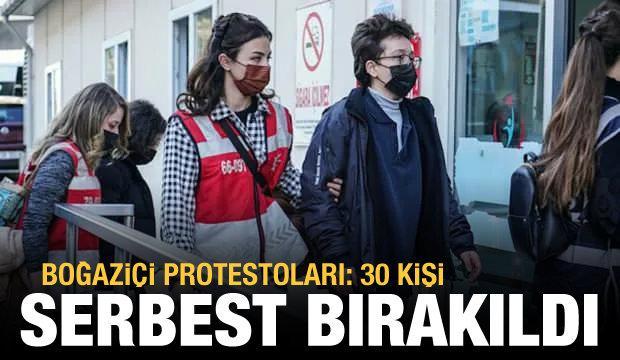 Διαμαρτυρίες Boğaziçi: 30 άτομα ήθελαν να συλληφθούν απελευθερώθηκαν