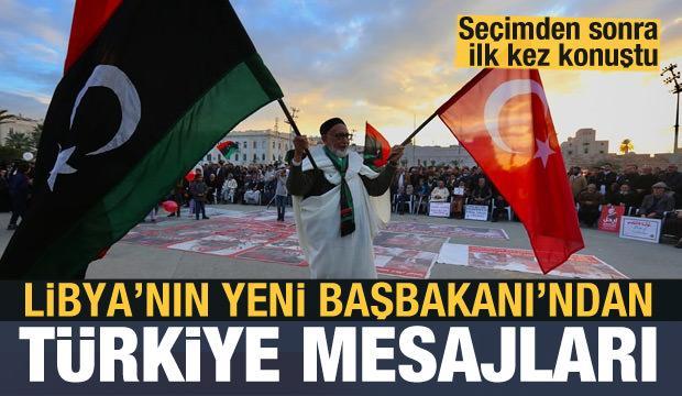 Libya'nın yeni Başbakanı'ndan Türkiye'ye mesaj