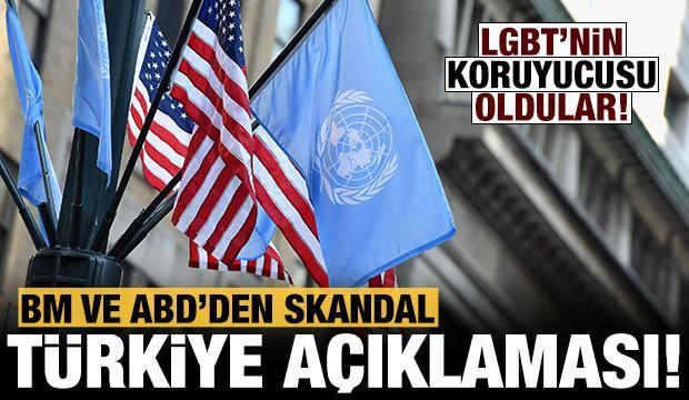 Son dakika: BM ve ABD'den skandal Türkiye açıklaması!