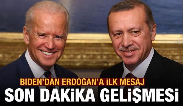 Mehmet Acet yazdı! Joe Biden'dan Erdoğan'a ilk mesaj