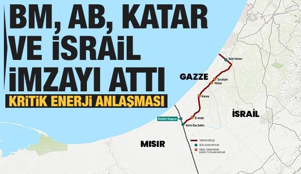 Gazze için önemli anlaşma! BM, AB, Katar ve İsrail imzaladı