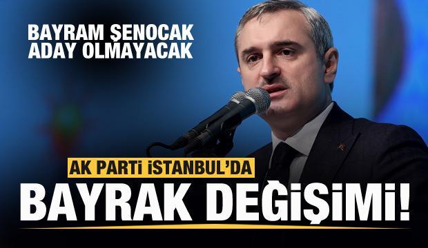 AK Parti İstanbul'da bayrak değişimi! Şenocak aday olmayacağını açıkladı