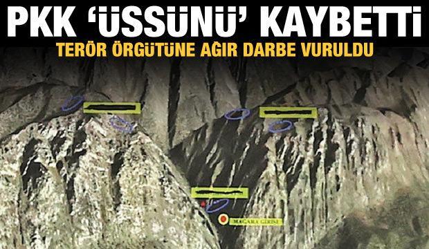 PKK, yerle bir edilen Gara'yı üs olarak kullanıyordu