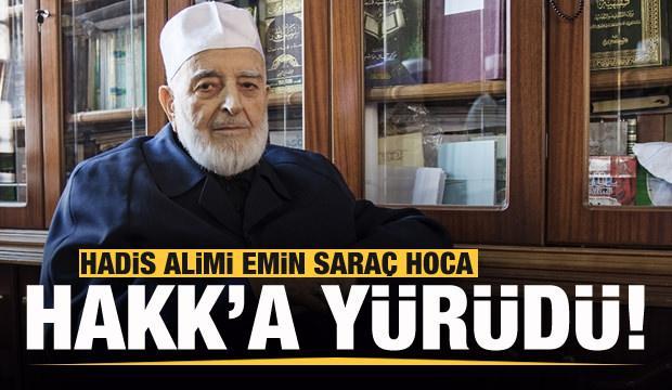 Hadis Alimi Muhammed Emin Saraç Hoca vefat etti ile ilgili görsel sonucu