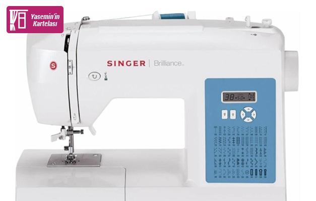Dikişe başlamak isteyenler için ideal: Singer Brilliance 6160 dikiş makinesi