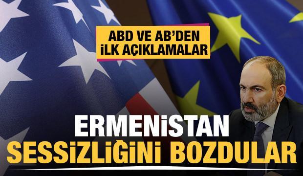 ABD ve AB'den Ermenistan'daki darbe girişimiyle ilgili peş peşe açıklamalar!