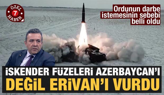 Abdullah Ağar'dan çarpıcı Paşinyan yorumu: İskender'ler Ermenistan'ı vurdu