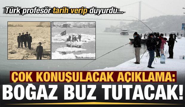 Çok konuşulacak iddia: İstanbul Boğazı donacak…