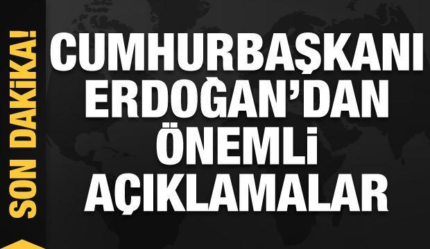 Kızılcahamam-Çerkeş Tüneli açıldı! Erdoğan'dan 'koyun göndermesi'