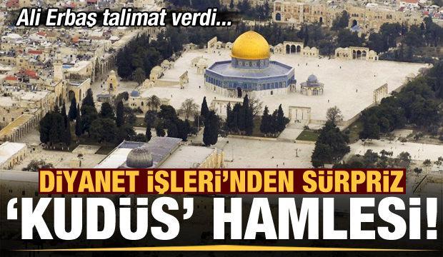 Diyanet'ten sürpriz Kudüs hamlesi! Ali Erbaş talimat verdi: Umre Dairesi'ne 'Kudüs' de eklendi
