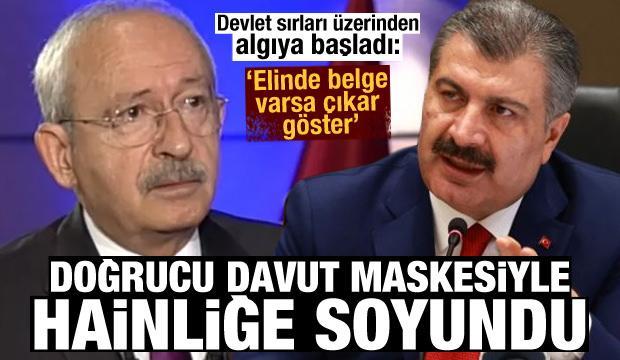 Belgeler elindeyse çıkar göster Kılıçdaroğlu!
