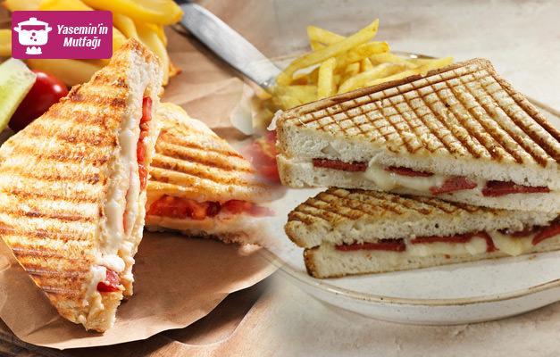 Muhteşem tadında farklı tost tarifleri