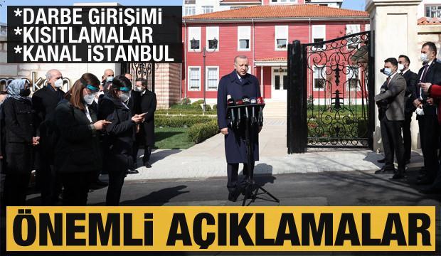 Erdoğan'dan Kanal İstanbul için son dakika sinyali! Ermenistan'daki darbe girişimi için yorum