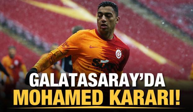 Galatasaray'da Mostafa Mohamed kararı!