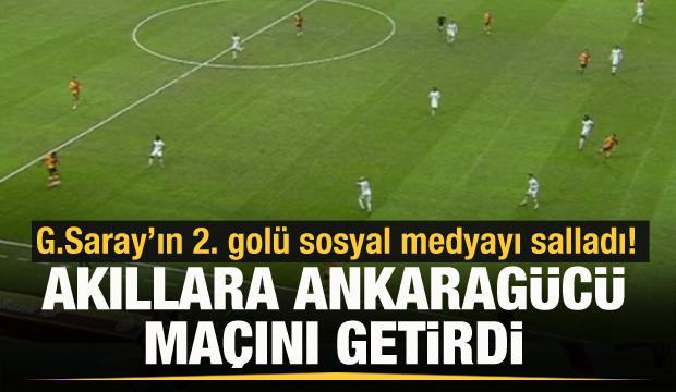 G.Saray'ın 2. golü Ankaragücü maçını hatırlattı!