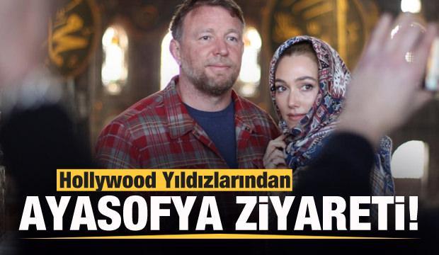 Hollywood Yıldızları Ayasofya'yı ziyaret etti