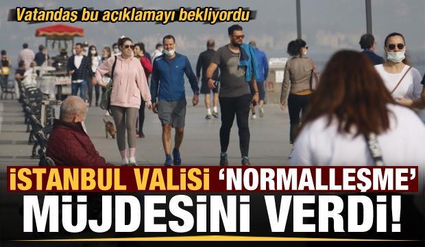 İstanbul Valisi Ali Yerlikaya'dan normalleşme müjdesi!