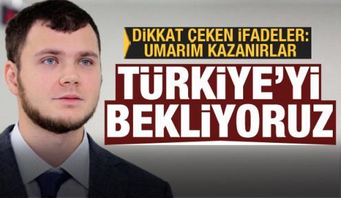 'İyi ilişkileri kullanmalıyız' dedi ve ekledi: Türkiye'yi bekliyoruz