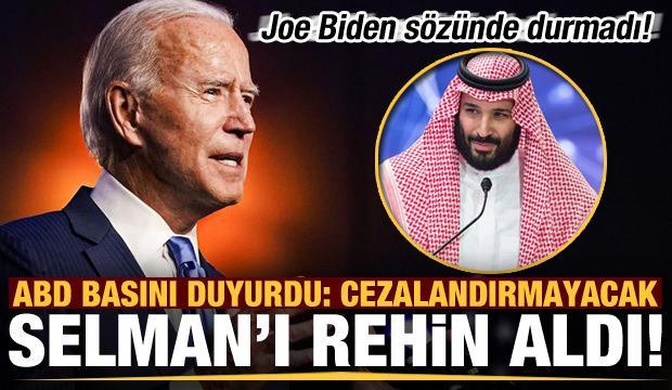Son dakika: Joe Biden sözünde durmadı! ABD basını duyurdu: Selman'ı rehin aldı...