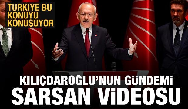 Kılıçdaroğlu'nun gündemi sarsan videosu! Türkiye bu konuyu konuşuyor