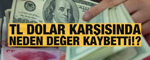 Küresel hareketlilik! TL dolar karşısında neden değer kaybetti?