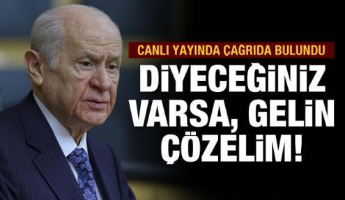 MHP Genel Başkanı Bahçeli'den gençlere çağrı