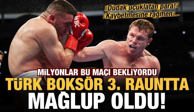 Milyonlar bu maçı bekliyordu! Türk boksör 3. rauntta mağlup oldu