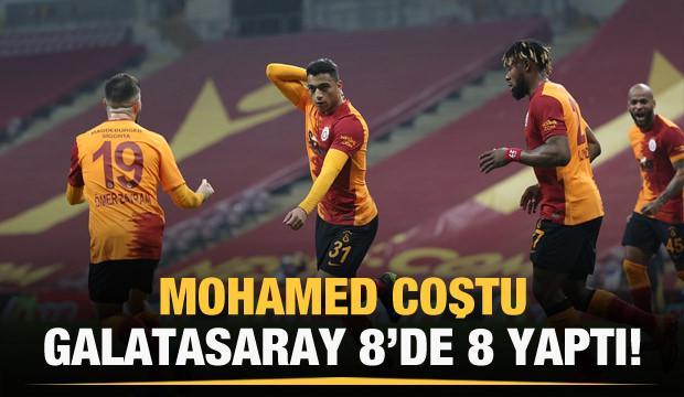 Mohamed coştu, Aslan 8'de 8 yaptı!