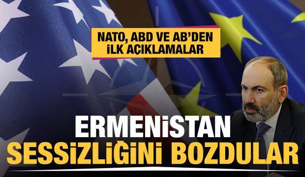 NATO, ABD ve AB'den Ermenistan'daki darbe girişimiyle ilgili peş peşe açıklamalar!