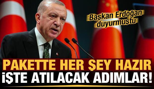 Son dakika: Başkan Erdoğan duyurmuştu! Her şey hazır, işte atılacak adımlar