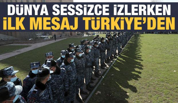 Son dakika haberi: Ermenistan'da darbe girişimi! Türkiye'den ilk açıklama